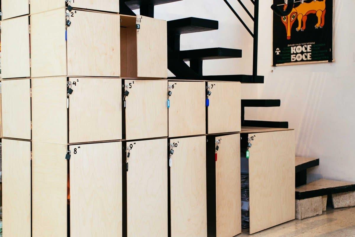 Шкафчета за багаж