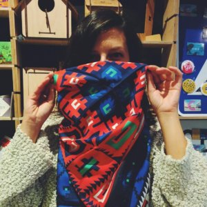 bulgarian-shevitsa-scarf ON A MISSION TO THE ALTERNATIVE SOFIA GIFT STORE