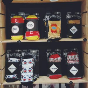 stinky-shevitsa-socks ON A MISSION TO THE ALTERNATIVE SOFIA GIFT STORE