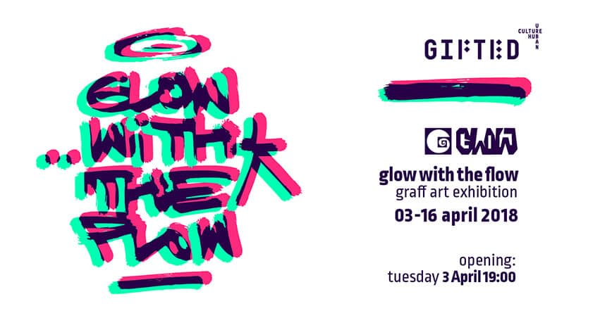 GLOW with the FLOW – first solo show of Glowgraff