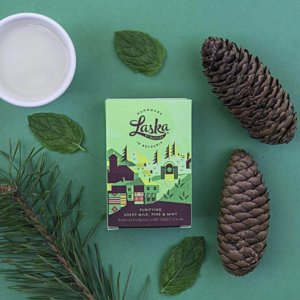 laska pine sheep milk